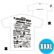 1DAY限定 アーティストロゴコラージュTシャツ [TOKYO 8.18 /  OSAKA 8.17] ホワイトボディ (XXXL)※事後販売分