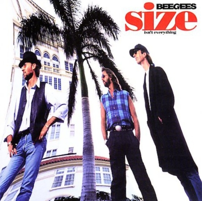 size isn t everything bee gees hmv books online 519945