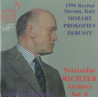Piano Sonata.16 / 4: S.richter +debussy (1990)