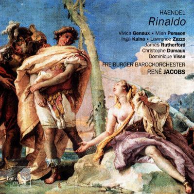 Rinaldo: Jacobs / Freiburg Baroque.o, Genaux, Persson, Kalna, Zazzo, Visse, Etc