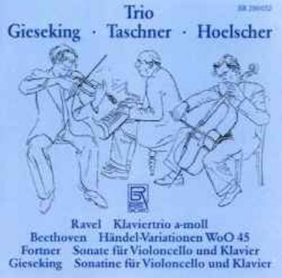 ラヴェル:ピアノ三重奏曲、ベートーヴェン:「マカベウスのユダ」の主題による12の変奏曲、他 ヘルシャー