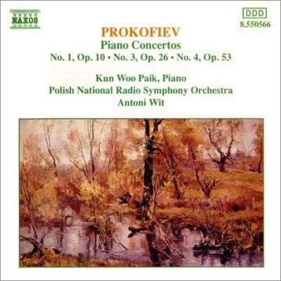 ピアノ協奏曲第1番、第3番、第4番 パイク、ヴィット&ポーランド国立放送響