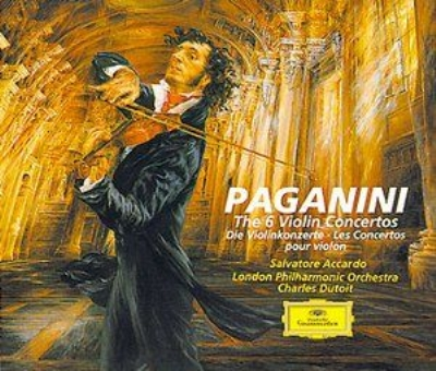 ヴァイオリン協奏曲全集 サルヴァドーレ・アッカルド、シャルル・デュトワ&ロンドン・フィル(3CD)