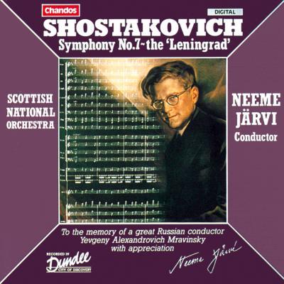 交響曲第7番『レニングラード』 ネーメ・ヤルヴィ&スコティッシュ・ナショナル管弦楽団