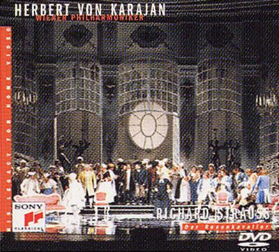 楽劇『ばらの騎士』全曲 カラヤン / VPO(DVD)(日本語字幕付)