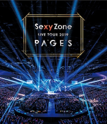 Sexy Zone LIVE TOUR 2019 PAGES (Blu-ray)
