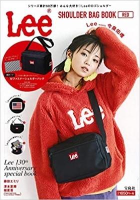 Lee SHOULDER BAG BOOK RED