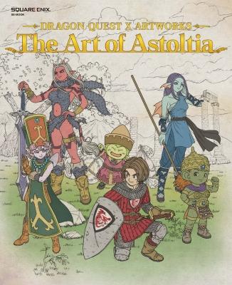 ドラゴンクエストX アートワークス The Art Of Astoltia Se-MOOK