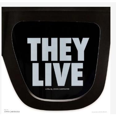 ゼイリブ They Live オリジナルサウンドトラック (180グラム重量盤レコード)