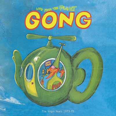 Love From Planet Gong: The Virgin Years 1973-1975 (12CD+DVD-AUDIO)