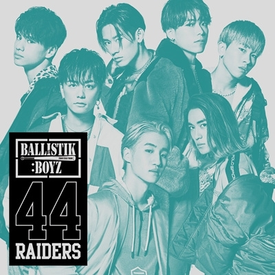 44RAIDERS (+DVD)