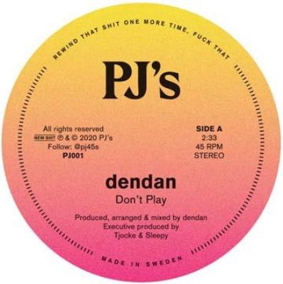 Don't Play / Db (7インチシングルレコード)