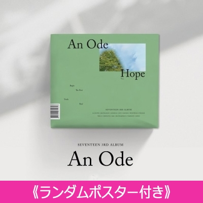 《ランダムポスター付き》 3RD ALBUM: An Ode (VER.3 /Hope)