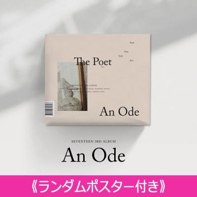 《ランダムポスター付き》 3RD ALBUM: An Ode (VER.2 /The Poet)