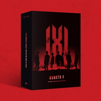 2019 MONSTA X WORLD TOUR [WE ARE HERE] IN SEOUL (3DVD)