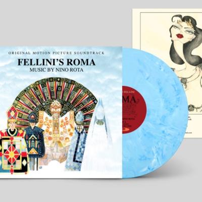 フェリーニのローマ Fellini's Roma オリジナルサウンドトラック (ブルー・ヴァイナル仕様/アナログレコード)
