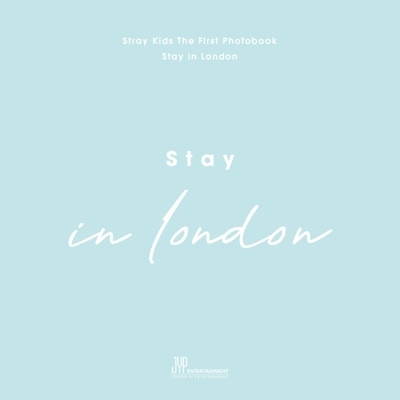 Stray Kids First Photobook [Stay in London] (BOOK+DVD)