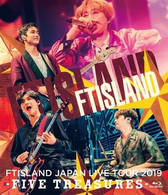 JAPAN LIVE TOUR 2019 -FIVE TREASURES-at WORLD HALL 【通常盤】(Blu-ray)