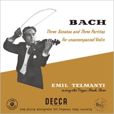 無伴奏ヴァイオリンのためのソナタとパルティータ全曲 エミル・テルマーニ(バッハ弓使用)(3枚組アナログレコード)