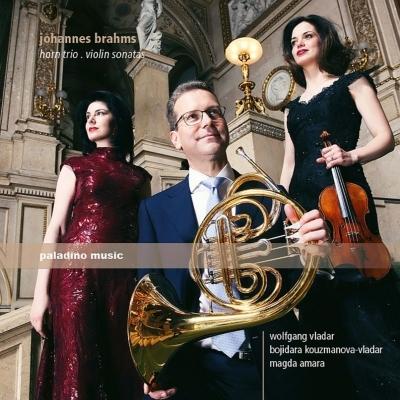 ホルン三重奏曲、ヴァイオリン・ソナタ第1番、第3番 ヴォルフガング・ヴラダー、ボジダラ・クスマノヴァ=ヴラダー、マグダ・アマラ(特別価格限定盤)