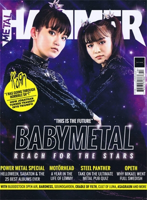Metal Hammer(OCT#327)2019【表紙:BABYMETAL】