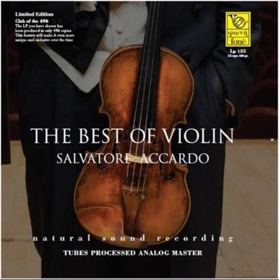 『ベスト・オブ・ヴァイオリン』 サルヴァトーレ・アッカルド (180グラム重量盤レコード)