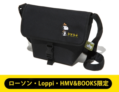 【LAWSON・Loppi・HMV&BOOKS限定】SNOOPY Beagle Scout メッセンジャーバッグ produced by LOGOS LIMITED BOOK