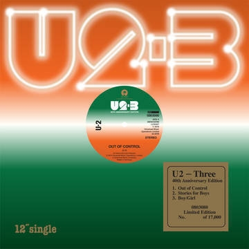 Three (40th Anni.Edition, Remastered, 45rpm)【2019 RECORD STORE DAY BLACK FRIDAY 限定盤】(12インチアナログシングル)