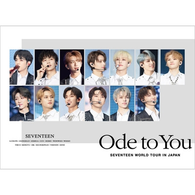 SEVENTEEN WORLD TOUR 'ODE TO YOU' IN JAPAN (2Blu-ray)【初回限定盤/Loppi・HMV限定】