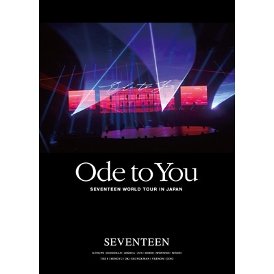Seventeen World Tour Ode To You In Japan (DVD)