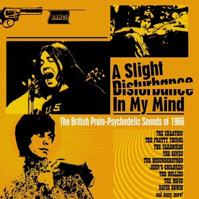 Slight Disturbance In My Mind: The British Proto-psychedelic Sounds Of 1966 (Clamshell Boxset)(3CD)