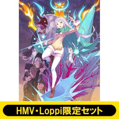 【HMV・Loppi限定セット】 Re:ゼロから始める異世界生活 氷結の絆 限定版 Blu-ray