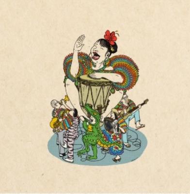 Hokkori Time / Cumbia Ducha (7インチシングルレコード)