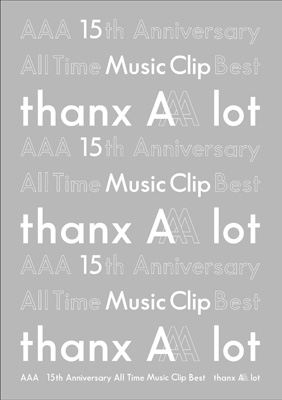 AAA 15th Anniversary All Time Music Clip Best -thanx AAA lot-(Blu-ray)
