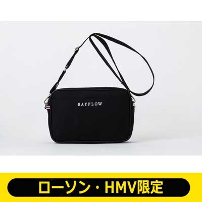 BAYFLOW LOGO SHOULDER BAG BOOK BLACK