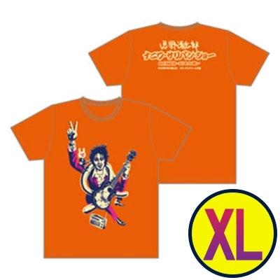 イラストTシャツ(オレンジ)XLサイズ