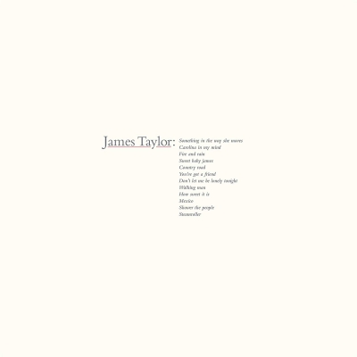 James Taylor's Greatest Hits (2019 Remaster)(180グラム重量盤レコード)