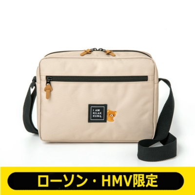 リラックマ Shoulder Bag Book Beige Ver.