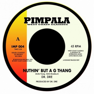 Nuthin' But A G Thang / Afro Puffs (7インチシングルレコード)