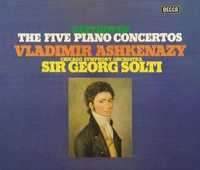 ピアノ協奏曲全集、ピアノ・ソナタ第29番 ヴラディーミル・アシュケナージ、ゲオルグ・ショルティ&シカゴ交響楽団(3SACDシングルレイヤー)