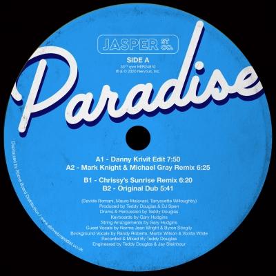 Paradise (Incl.Danny Krivit Edit)(12インチシングルレコード)