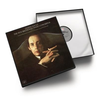 ベートーヴェン:ピアノ協奏曲全集 グレン・グールド (5枚組アナログレコード)