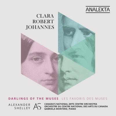ブラームス:交響曲第1番、シューマン:交響曲第1番『春』、C.シューマン:ピアノ協奏曲 アレクサンダー・シェリー&カナダNAC管弦楽団、ガブリエラ・モンテーロ(2CD)