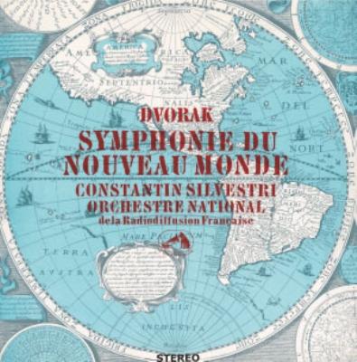 交響曲第9番 コンスタンティン・シルヴェストリ、フランス国立放送管弦楽団 (アナログレコード)