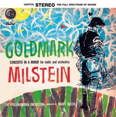 ゴルトマルク:ヴァイオリン協奏曲第1番 ハリー・ブレック、ナタン・ミルシテイン(Vn)、フィルハーモニア管弦楽団 (アナログレコード)