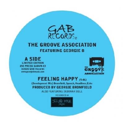 Feeling Happy (Development Mix)/ More And More (Curiosity Remix)(7インチシングルレコード)