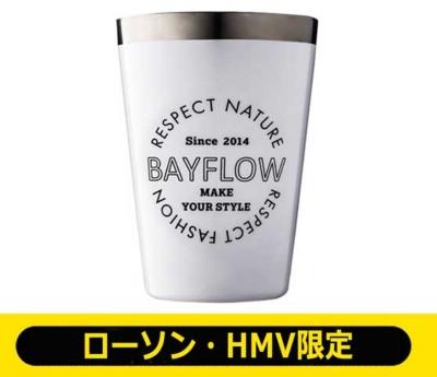 BAYFLOW LOGO TUMBLER BOOK WHITE【ローソン・HMV限定】