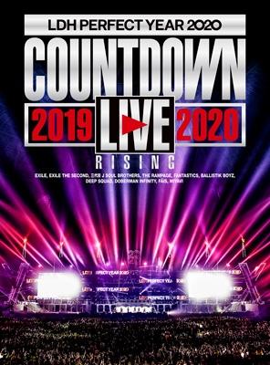 "LDH PERFECT YEAR 2020 COUNTDOWN LIVE 2019→2020 ""RISING"" (Blu-ray)"