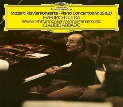 ピアノ協奏曲第25番、第27番 フリードリヒ・グルダ、クラウディオ・アバド&ウィーン・フィル (2枚組/180グラム重量盤レコード/Deutsche Grammophon)