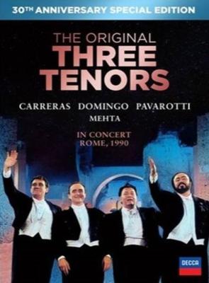 3大テノール/世紀の競演〜30周年記念特別限定盤 ホセ・カレーラス、プラシド・ドミンゴ、ルチアーノ・パヴァロッティ、ズービン・メータ(1990年ローマ)(+CD)